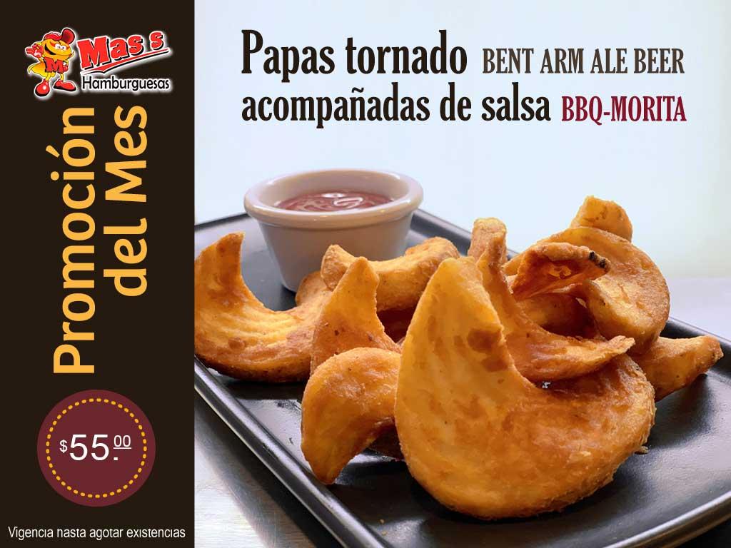 Promo Papas Tornado
